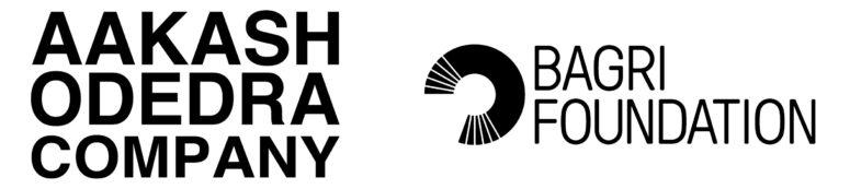 Aakash Odedra Company & Bagri Foundation logos
