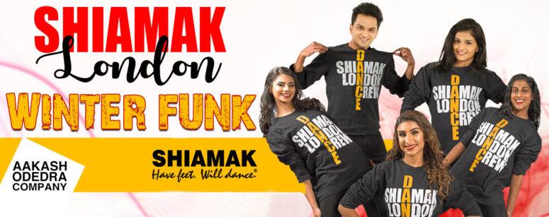 Dancers wearing Shiamak branded tshirts