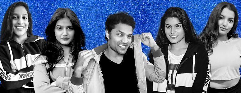 Yashni, Supriya, Swapnil, Jayna and Elisha
